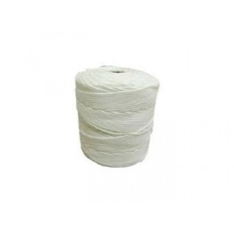 Corda Trançada de Polipropileno Branca de 1.5 mm