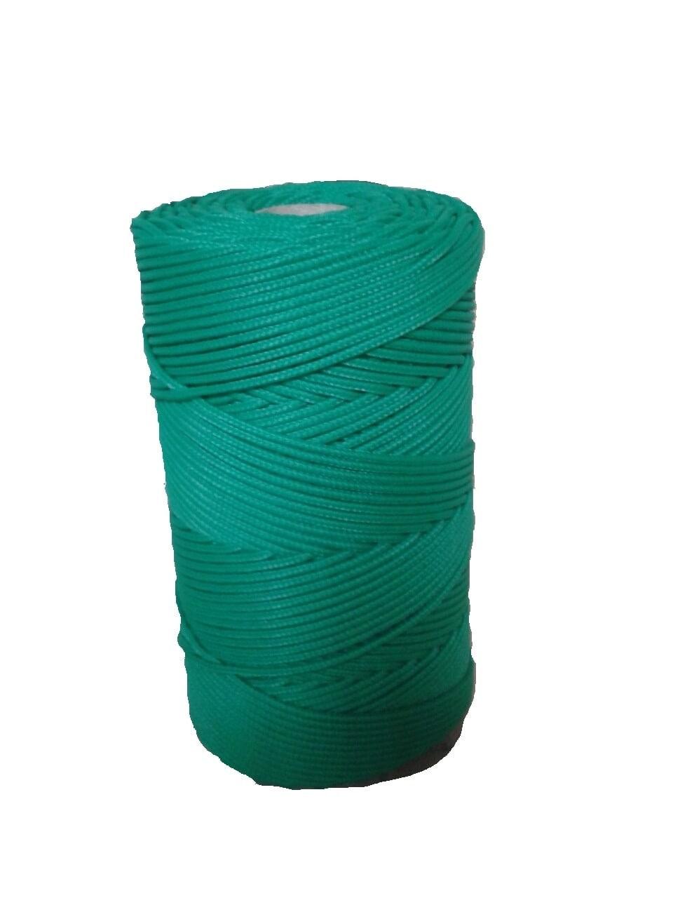 Corda Trançada de Polipropileno Verde Bandeira 5.0 mm