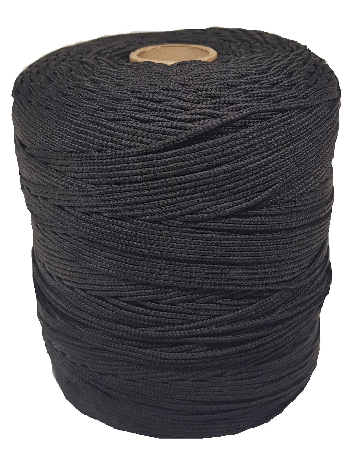Corda Trançada de Polipropileno Preta 2.0 mm