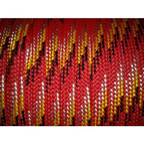 Corda Chata PP 22,0mm Vermelha Multicor  (para cabresto)