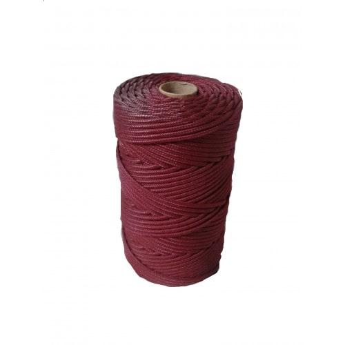 Corda Trançada de Polipropileno Vinho 2.0 mm