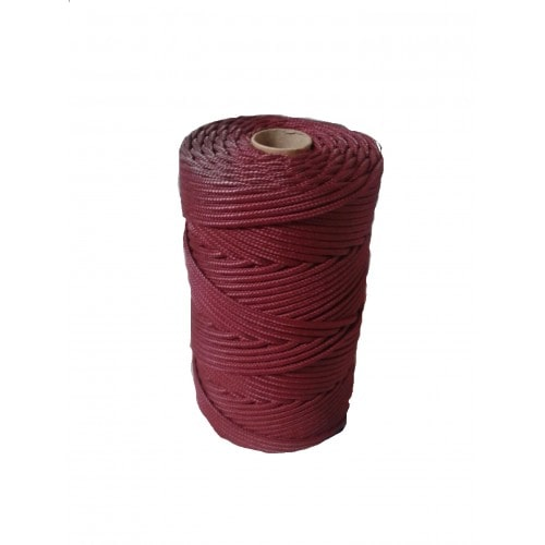 Corda Trançada de Polipropileno Vinho 5.0 mm