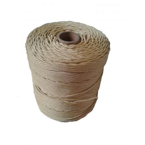 Corda Trançada de Polipropileno champanhe 6.0 mm