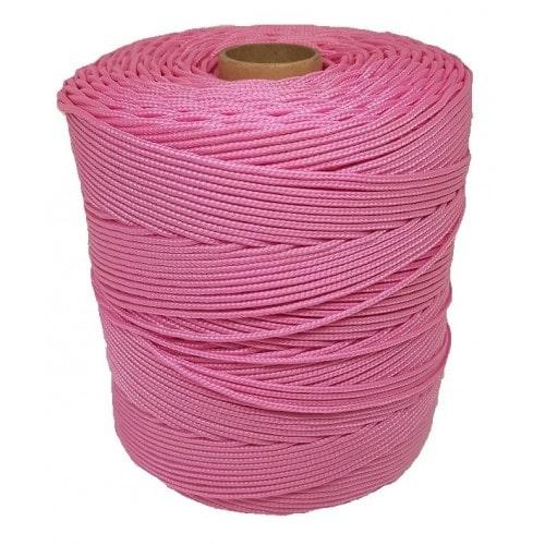 Corda Trançada de Polipropileno Rosa Bebe 6.0 mm