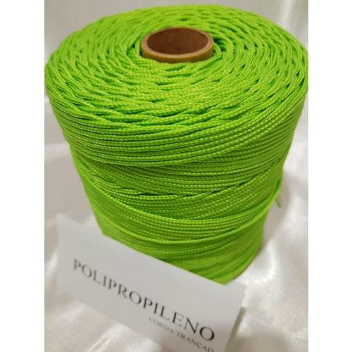 Corda Trançada de Polipropileno Verde Pistache 3.0 mm