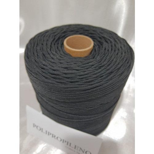 Corda Trançada de Polipropileno Preta 3.0 mm